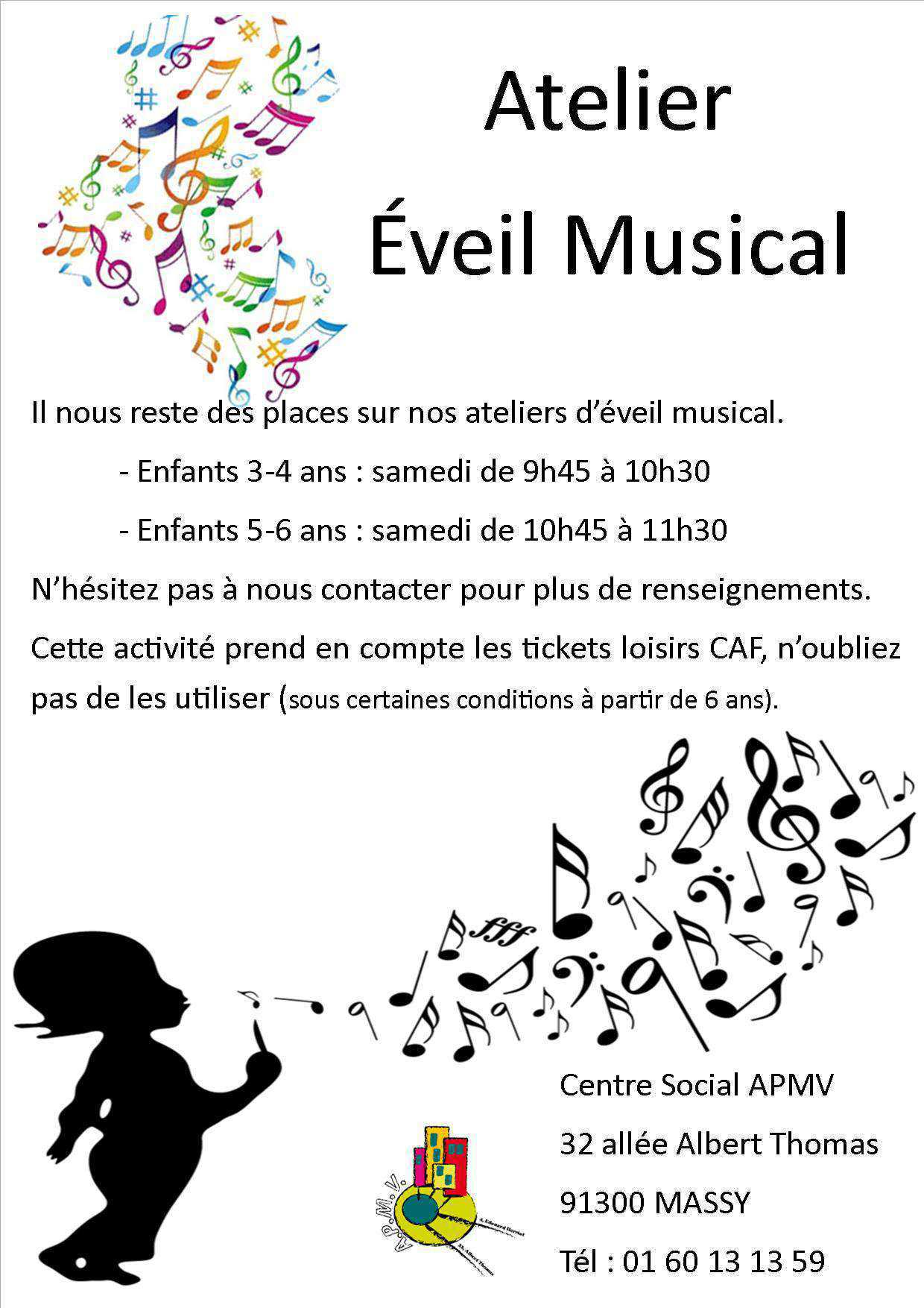 flyer eveil musical